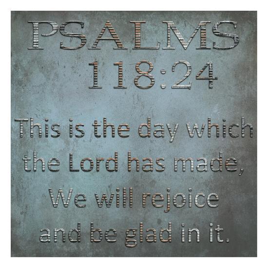 Be Glad In It Psalms-Sheldon Lewis-Art Print