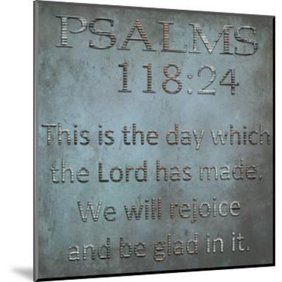 Be Glad In It Psalms-Sheldon Lewis-Mounted Art Print