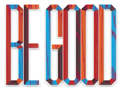 Be Good-Aaron Eiland-Giclee Print