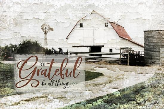 Be Grateful-Jennifer Pugh-Art Print