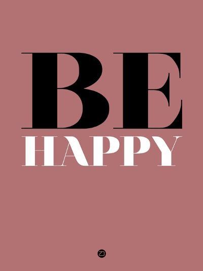 Be Happy 2-NaxArt-Art Print