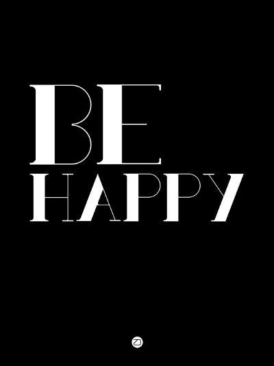 Be Happy 3-NaxArt-Art Print
