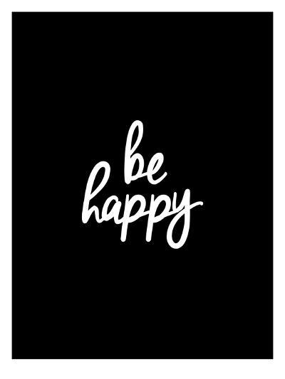 Be Happy-Brett Wilson-Art Print