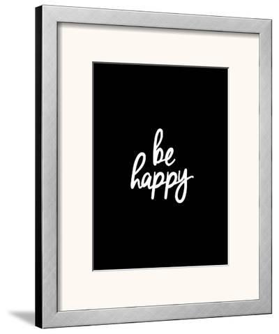 Be Happy-Brett Wilson-Framed Art Print