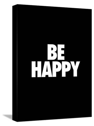 Be Happy-Brett Wilson-Stretched Canvas Print