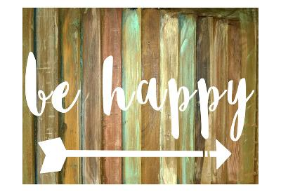 Be Happy-Jelena Matic-Art Print