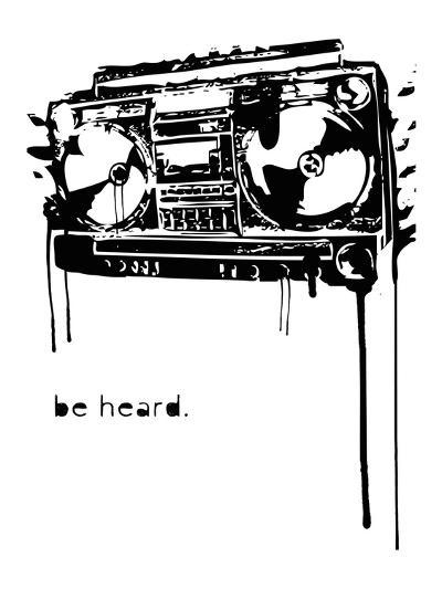 Be Heard-Matthew Schnepf-Art Print