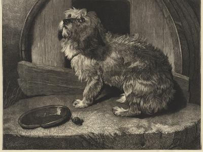 Be it Ever So Humble, There's No Place Like Home-Edwin Landseer-Giclee Print