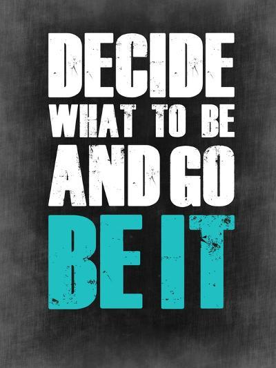 Be it Grey-NaxArt-Art Print