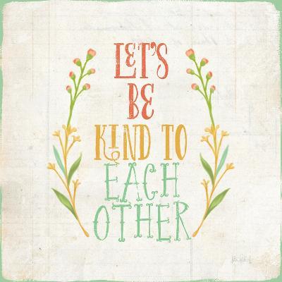 Be Kind I-Katie Pertiet-Art Print