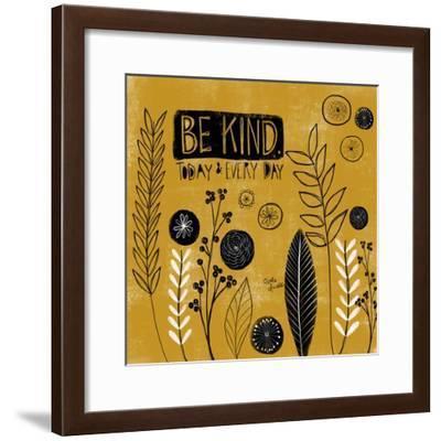Be Kind Today-Katie Doucette-Framed Art Print