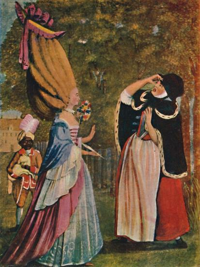 'Be Not Amazed, Dear Mother! It Is Indeed Your Daughter Anne', 18th century (1904)-Unknown-Giclee Print