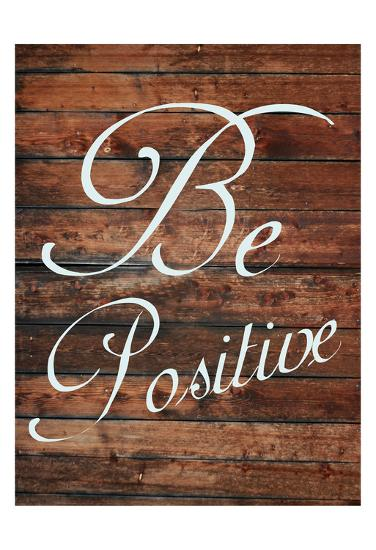 Be Positive-Sheldon Lewis-Art Print