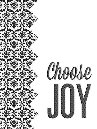Be Simple Choose Joy II-SD Graphics Studio-Premium Giclee Print