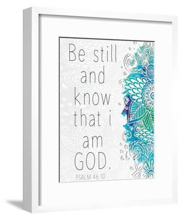 Be Still-Kimberly Allen-Framed Art Print