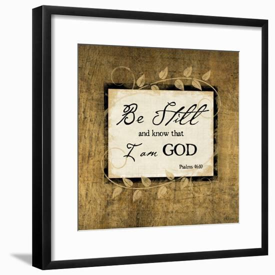 Be Still-Jennifer Pugh-Framed Premium Giclee Print