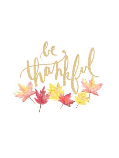 Be Thankful-Jetty Printables-Art Print