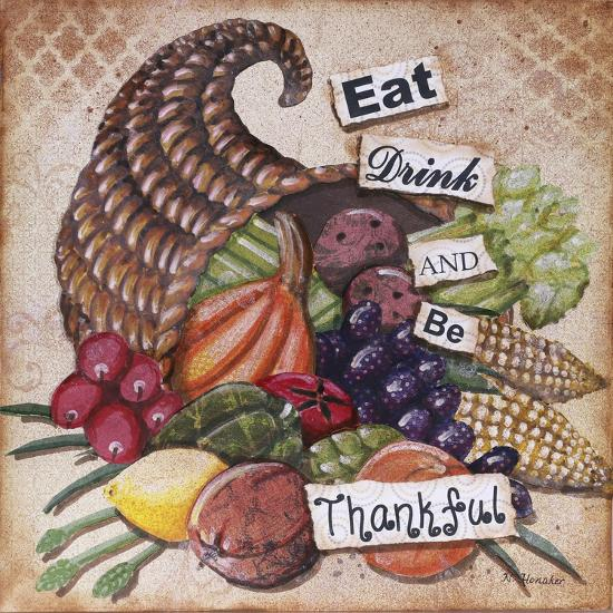 Be Thankful-Let Your Art Soar-Giclee Print
