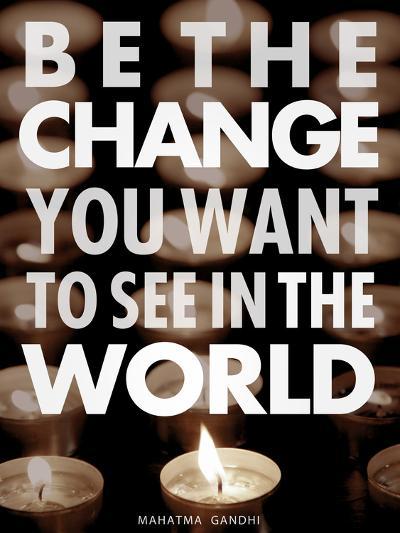 Be the Change-Chuck Haney-Art Print