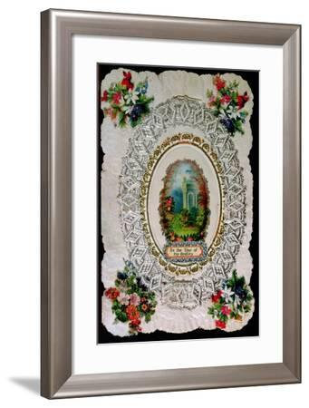 Be the Star of My Destiny - Victorian Valentine Card--Framed Giclee Print