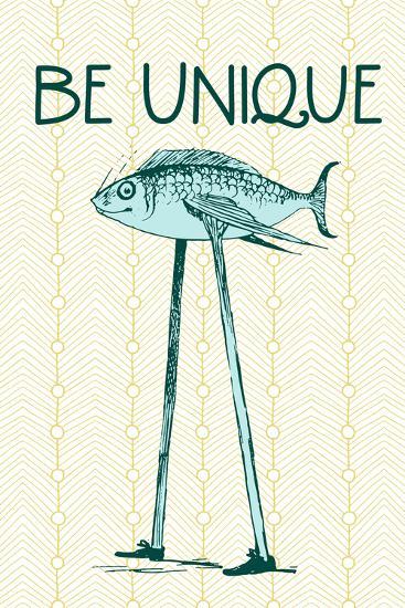 Be Unique--Poster
