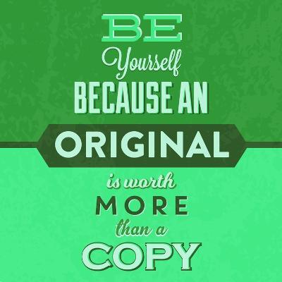 Be Yourself 1-Lorand Okos-Art Print