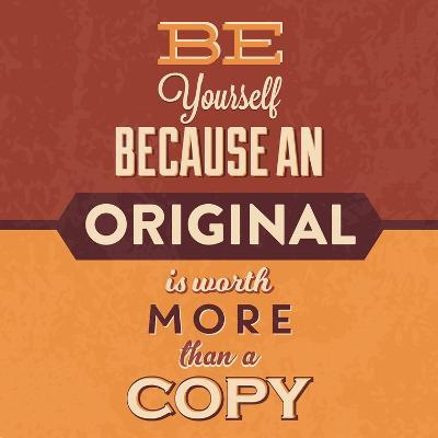 Be Yourself-Lorand Okos-Art Print