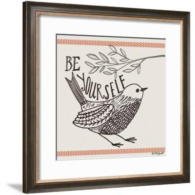 Be Yourself-Katie Doucette-Framed Art Print