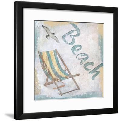 Beach 2-Karen Williams-Framed Giclee Print