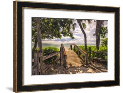 Beach Access-Danny Head-Framed Giclee Print