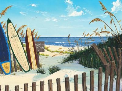 Beach Access-Scott Westmoreland-Art Print