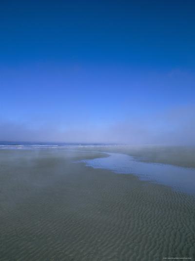 Beach and Sea Mist, Queen Charlotte Island, British Columbia (B.C.), Canada-Oliviero Olivieri-Photographic Print