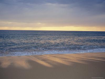 Beach and Sea, St. Girons, Landes, Aquitaine, France, Europe-Charles Bowman-Photographic Print