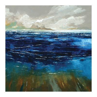 Beach and Sea-Stuart Roy-Art Print