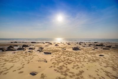 Beach and Tropical Sea-Ronnachai-Photographic Print
