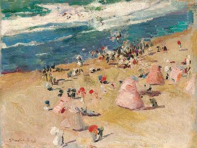 Beach at Biarritz, 1906-Joaquin Sorolla y Bastida-Giclee Print