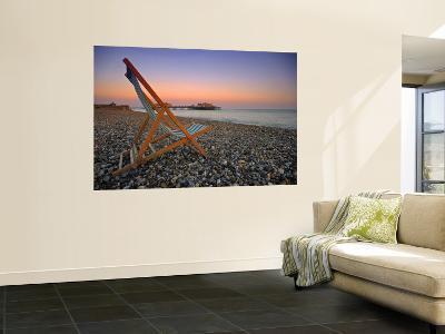 Beach at Brighton, East Sussex, England-Jon Arnold-Wall Mural