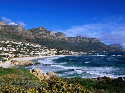 Beach at Camps Bay, Cape Town, South Africa-Ariadne Van Zandbergen-Photographic Print