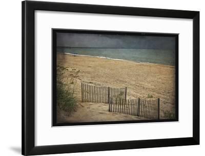 Beach at Dusk-Lillis Werder-Framed Premium Giclee Print