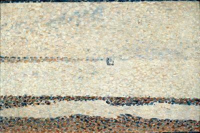 Beach at Gravelines, 1890-Georges Seurat-Giclee Print