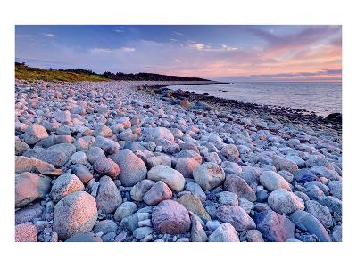 Beach at Green Point in Gros Morne National Park on the West Coast, Newfoundland, Canada--Art Print