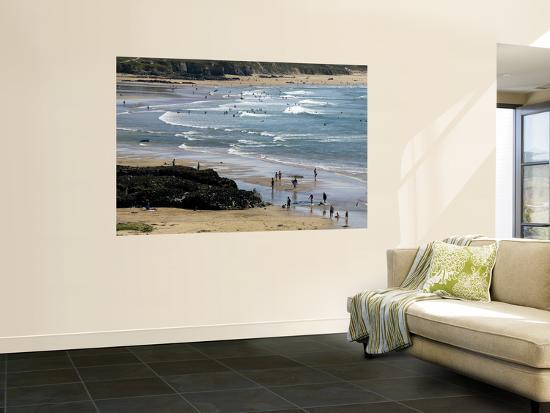 Beach at Gwithian Sands-Doug McKinlay-Wall Mural