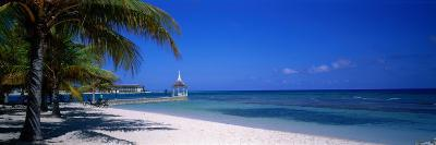 Beach at Half Moon Hotel, Montego Bay, Jamaica--Photographic Print