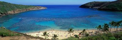 Beach at Hanauma Bay Oahu Hawaii USA--Photographic Print