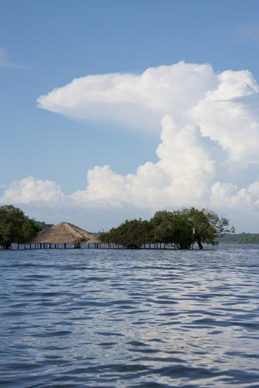 Beach at Height of the Wet Season, Alter Do Chao, Amazon, Brazil-Cindy Miller Hopkins-Photographic Print