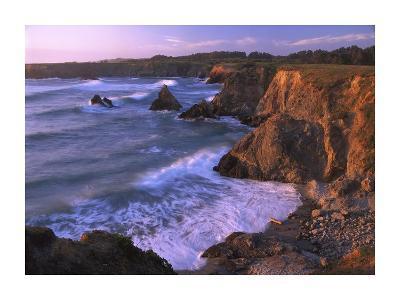 Beach at Jughandle State Reserve, Mendocino County, California-Tim Fitzharris-Art Print