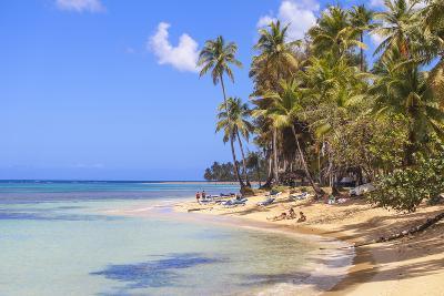 Beach at Las Terrenas, Samana Peninsula, Dominican Republic, West Indies, Caribbean-Jane Sweeney-Photographic Print