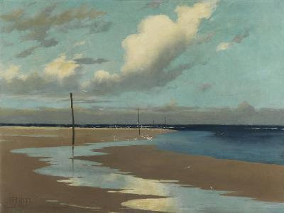 Beach at Low Tide, 1890-Frederick Milner-Giclee Print