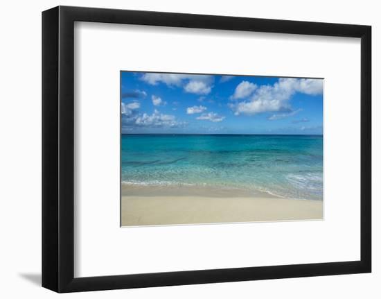 Beach at Maho Bay, Sint Maarten, West Indies, Caribbean, Central America-Michael Runkel-Framed Photographic Print