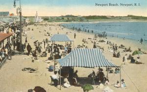 Beach at Newport, Rhode Island
